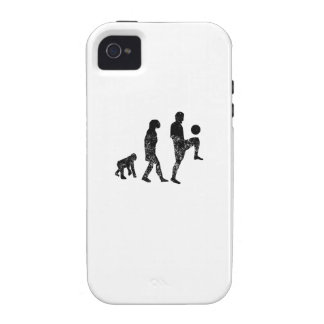 Distressed Soccer Evolution Case-Mate iPhone 4 Cover