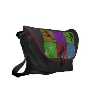 Distressed Soccer Player Messenger Bag