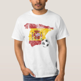 Distressed Spain Soccer T-Shirt