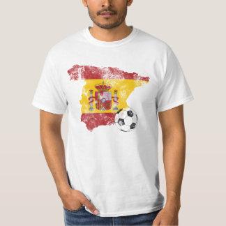 Distressed Spain Soccer Tee Shirt