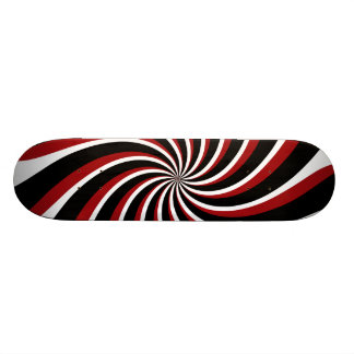Distressed Spiral Stella Skateboard