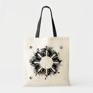 Distressed style Reversed Philippine Sun Bag