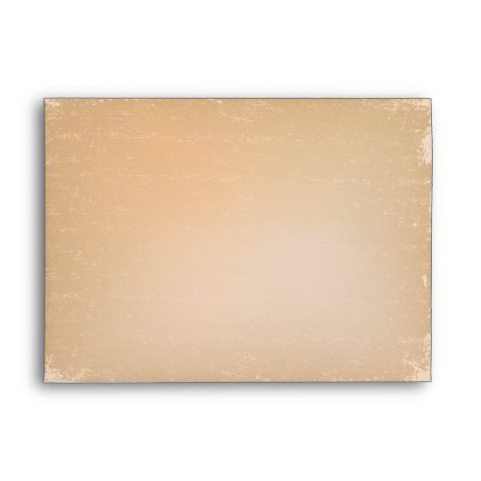 Distressed tan A7 envelope