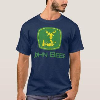 Distressed Tees Funny Tractor John Beer Deer