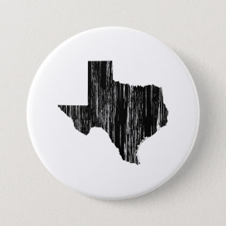 Distressed Texas State Outline Button