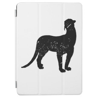 Distressed Thylacosmilus Silhouette iPad Air Cover