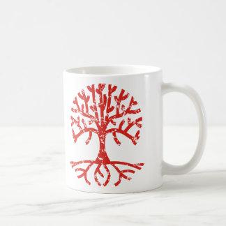 Distressed Tree I Coffee Mug