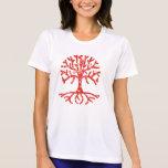 Distressed Tree I Tee Shirts