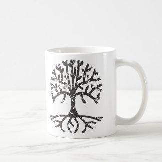 Distressed Tree II Coffee Mug