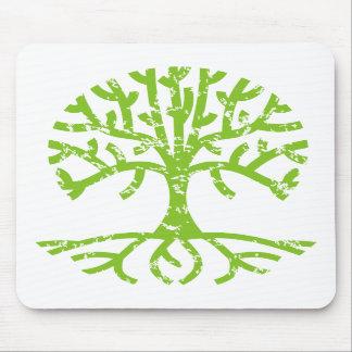 Distressed Tree III Mouse Pad