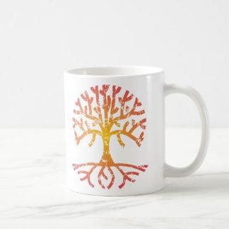 Distressed Tree IV Coffee Mug
