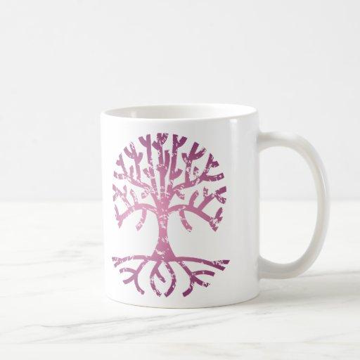 Distressed Tree V Coffee Mug