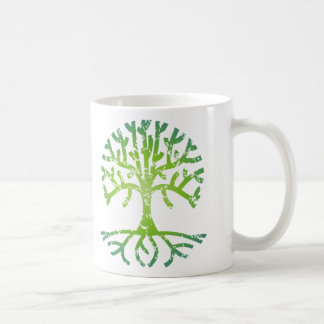 Distressed Tree VI Coffee Mug