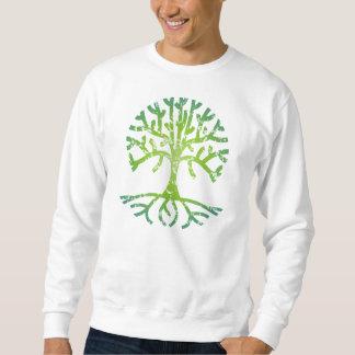 Distressed Tree VI Pullover Sweatshirt