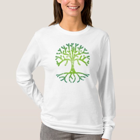 Distressed Tree VI T-Shirt