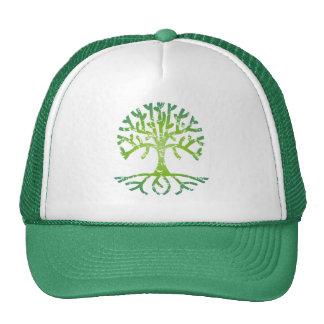 Distressed Tree VI Trucker Hat