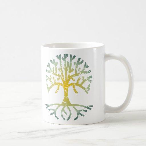 Distressed Tree VII Coffee Mug