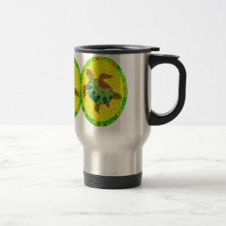 Distressed Turtle Travel Mugs
