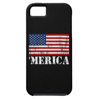 Distressed U.S. Flag 'MERICA iPhone SE/5/5s Case