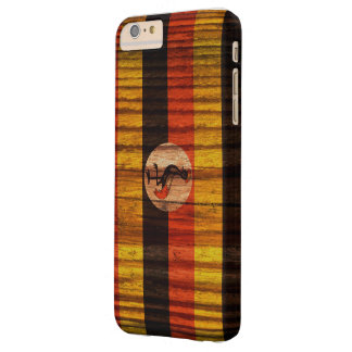 Distressed Uganda Flag Barely There iPhone 6 Plus Case