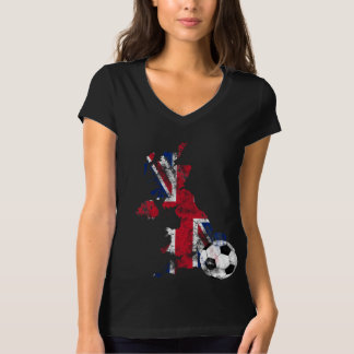 Distressed UK Soccer T-Shirt