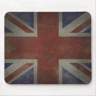Distressed Union Jack Mouse Pad