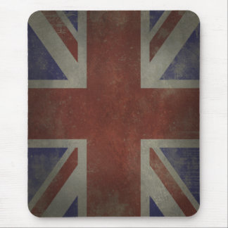 Distressed Union Jack Mouse Pad