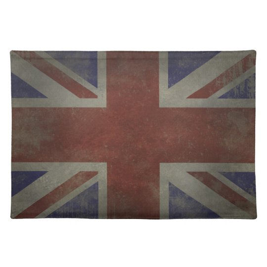 Distressed Union Jack Placemat