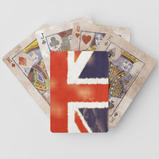 Distressed Union Jack Playing Card Deck