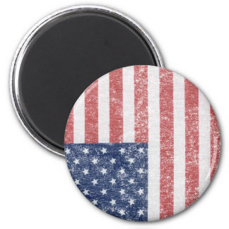 Distressed United States American Flag Magnet