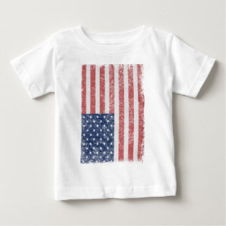 Distressed United States American Flag T-shirt
