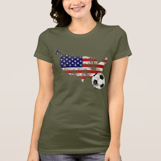 Distressed United States Soccer T-Shirt