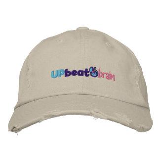 Distressed UpbeatBrain Baseball Hat Embroidered Hat