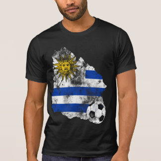 Distressed Uruguay Soccer T-Shirt