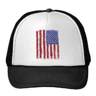 Distressed US Flag Trucker Hat