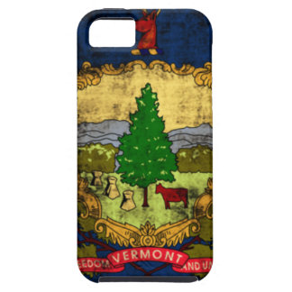 Distressed Vermont State Flag iPhone SE/5/5s Case
