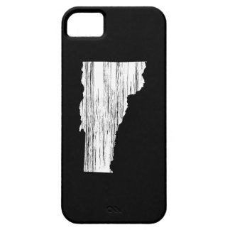 Distressed Vermont State Outline iPhone SE/5/5s Case
