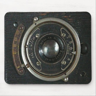 Distressed Vintage Camera Mousepad