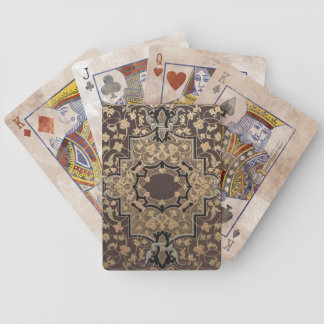 Distressed Vintage Ornate 16th Century Design Bicycle Playing Cards