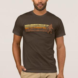 Distressed Vintage Retro Sasquatch Shirt