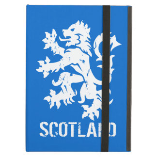 Distressed Vintage Style Scotland Rampant Lion Case For iPad Air
