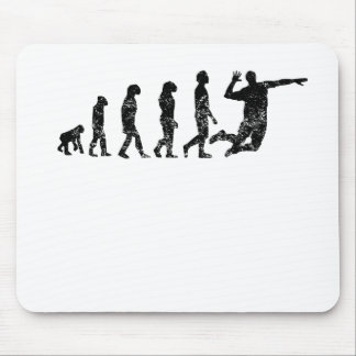 Distressed Volleyball Evolution Mouse Pad