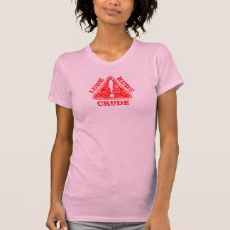 Distressed Warning Lude Rude Crude 5 Shirts