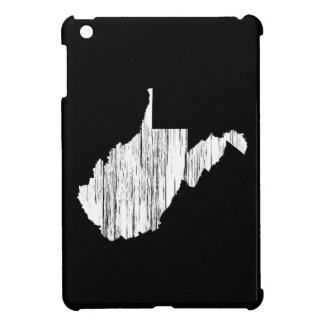 Distressed West Virginia State Outline Case For The iPad Mini