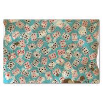 Distressed Wonderland Alice Pattern Tissue Paper