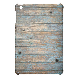 Distressed Wood Pattern iPad case