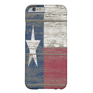 Distressed Wooden Texas Flag Iphone 6 Slim Case Barely There iPhone 6 Case
