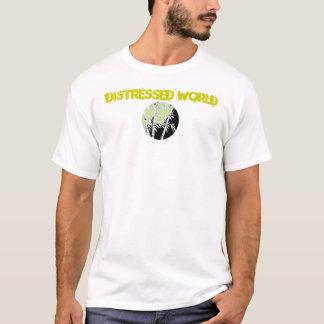 Distressed World T Shirt