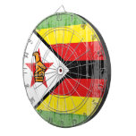 DISTRESSED ZIMBABWE FLAG.png Dartboard