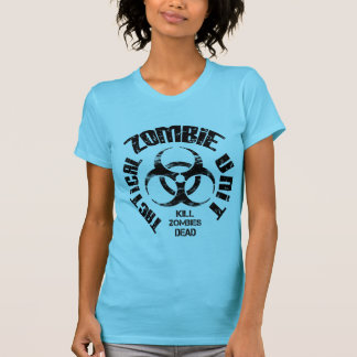 Distressed Zombie Tactical Unit Woman's Shirt